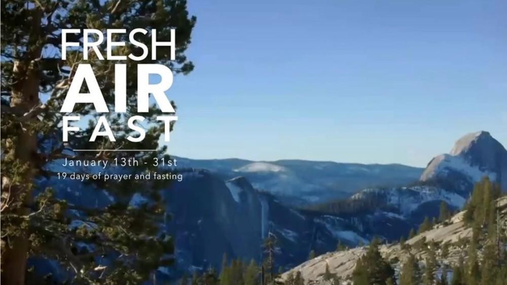 FRESH AIR - PRAYER AND FASTING JOURNAL